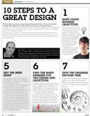 10 steps to a great design