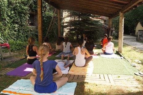 Campamentos hipicos de verano en los pirineos