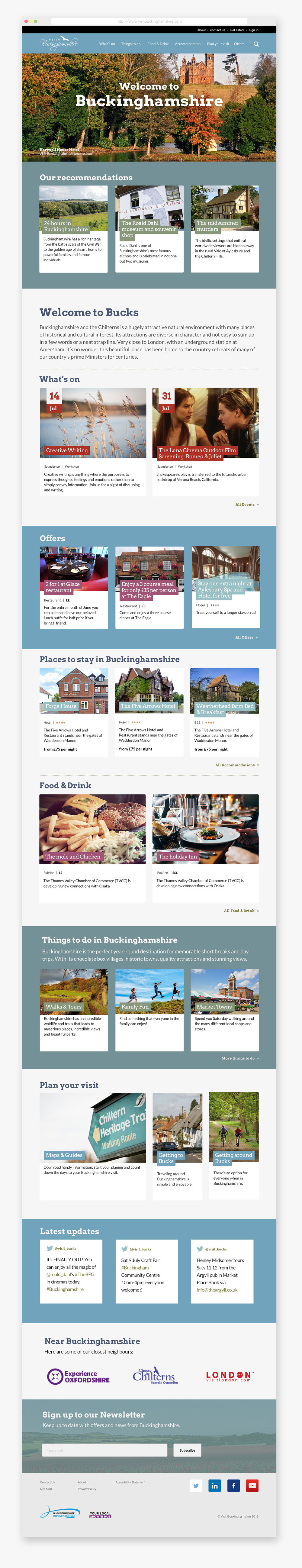Visit-Buckinghamshire-homepage-furthermore-user-experience