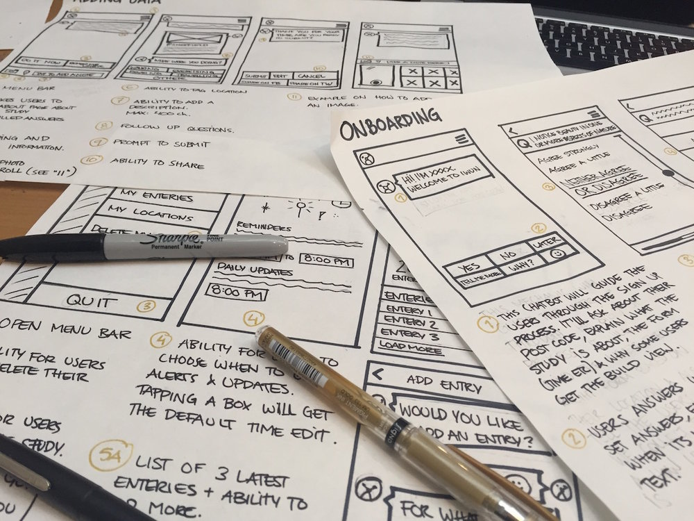 wireframes-chatbot-sketches-ux-design-product-design