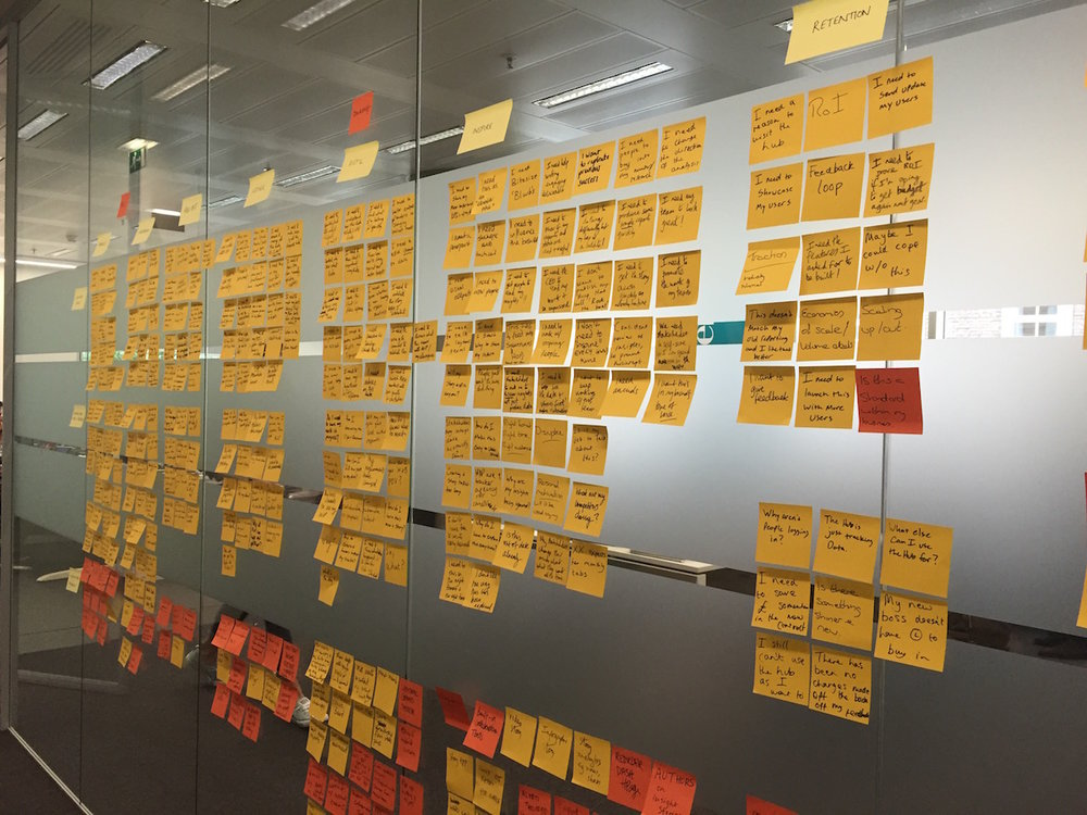 Customer Journey Framework workshop
