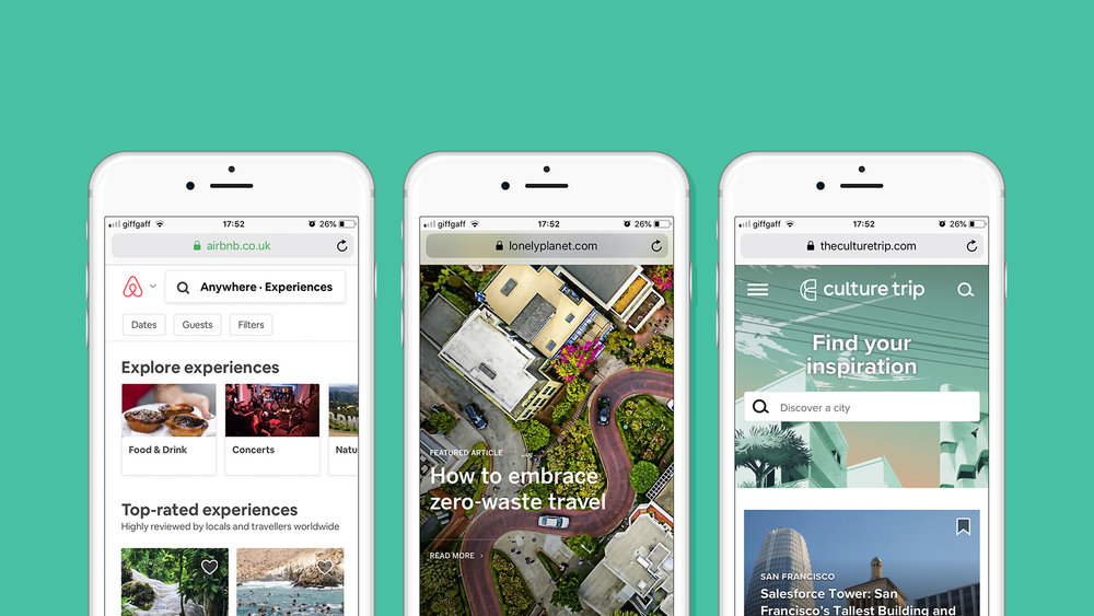 Inspiring content from  airbnb ,  Lonely Planet  and  Culture Trip .