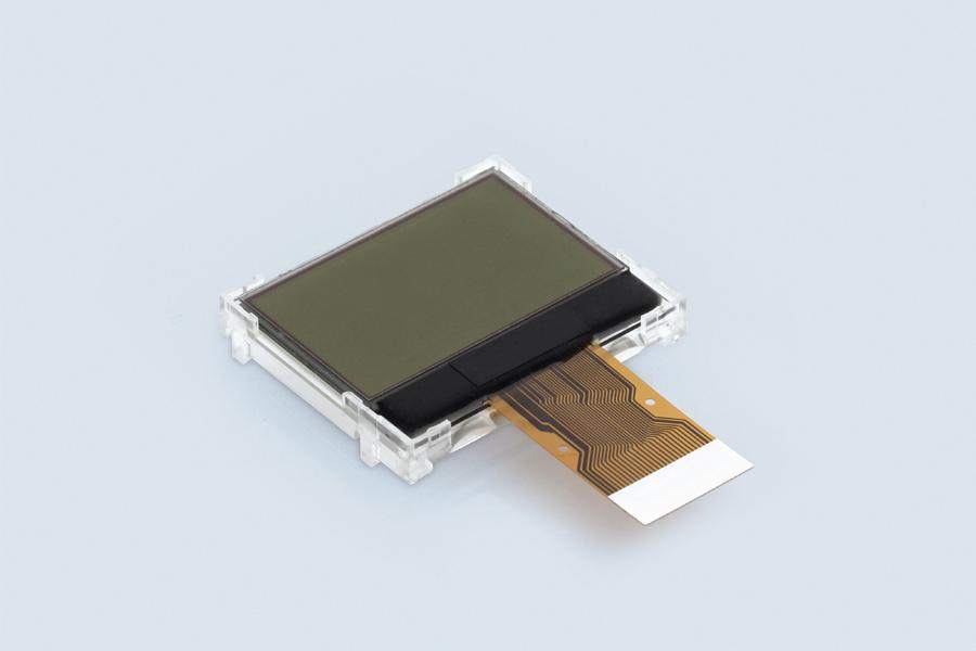 Assembled FSTN LCD graphics module