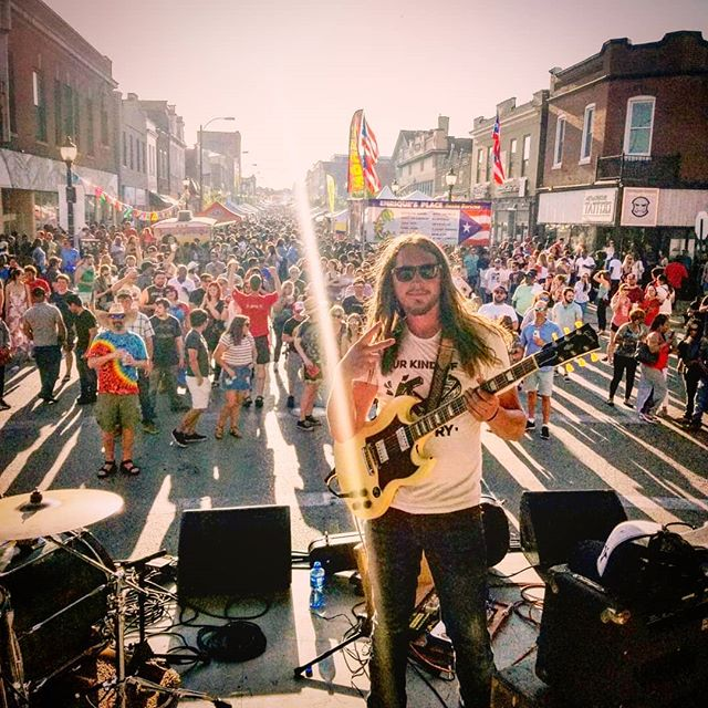 @cincodemayostl #cherokeestreet was a win. Thanks to everone involved, we had nothing short of an incredible day and night. Had a blast setting up out front @artfarmstl for our late night pop up. Big time fun was had at the @urbanchestnut tent, thanks for the rock fuel.  #tailgaiting #rocknroll #community #stlouismo #goodness #localbrew #beer