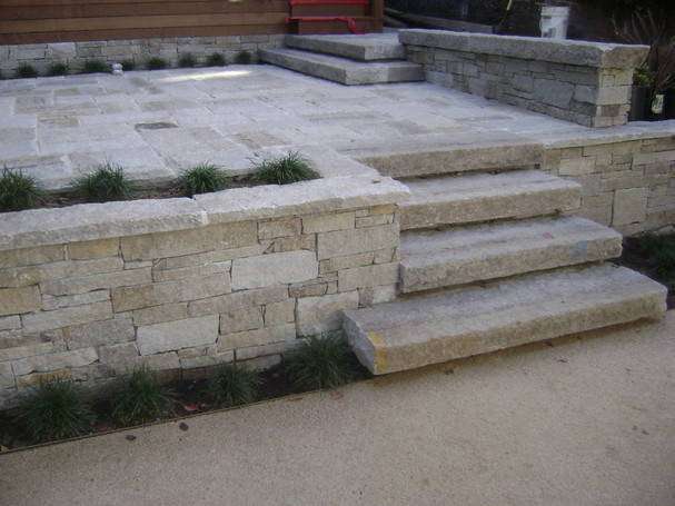 Reclaimed Granite Coping ⤴  2x- 69x6, 36x6, 2x- 30x6,  99x6, 75x6, 133x6, 103x6, 18x6- QUESTION- should some of the coping be wider to accommodate butts?