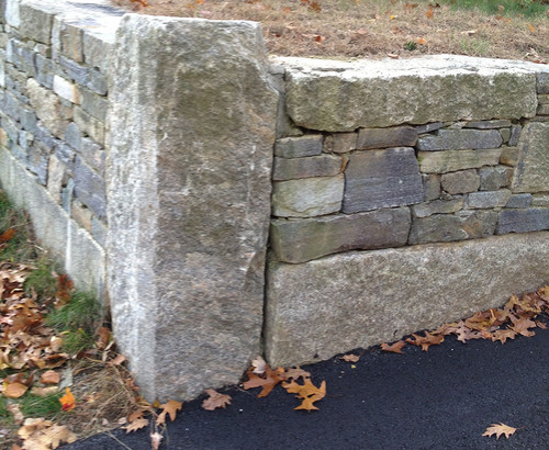 Standing Stone Corner ⤴  2x- 6x6x15, 3x- 6x6x13