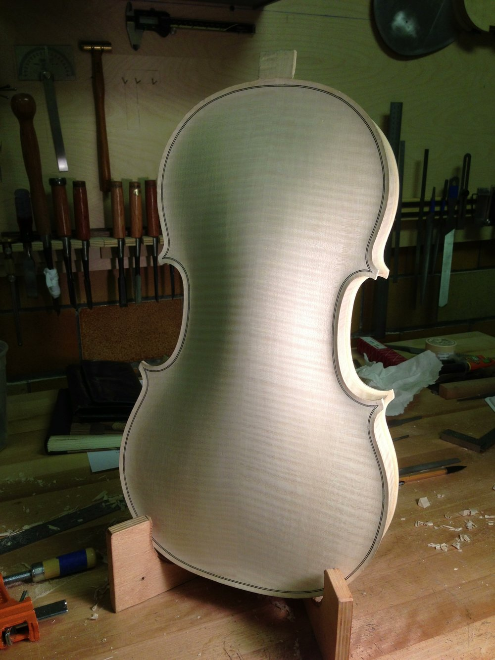 No. 4 - Completed body