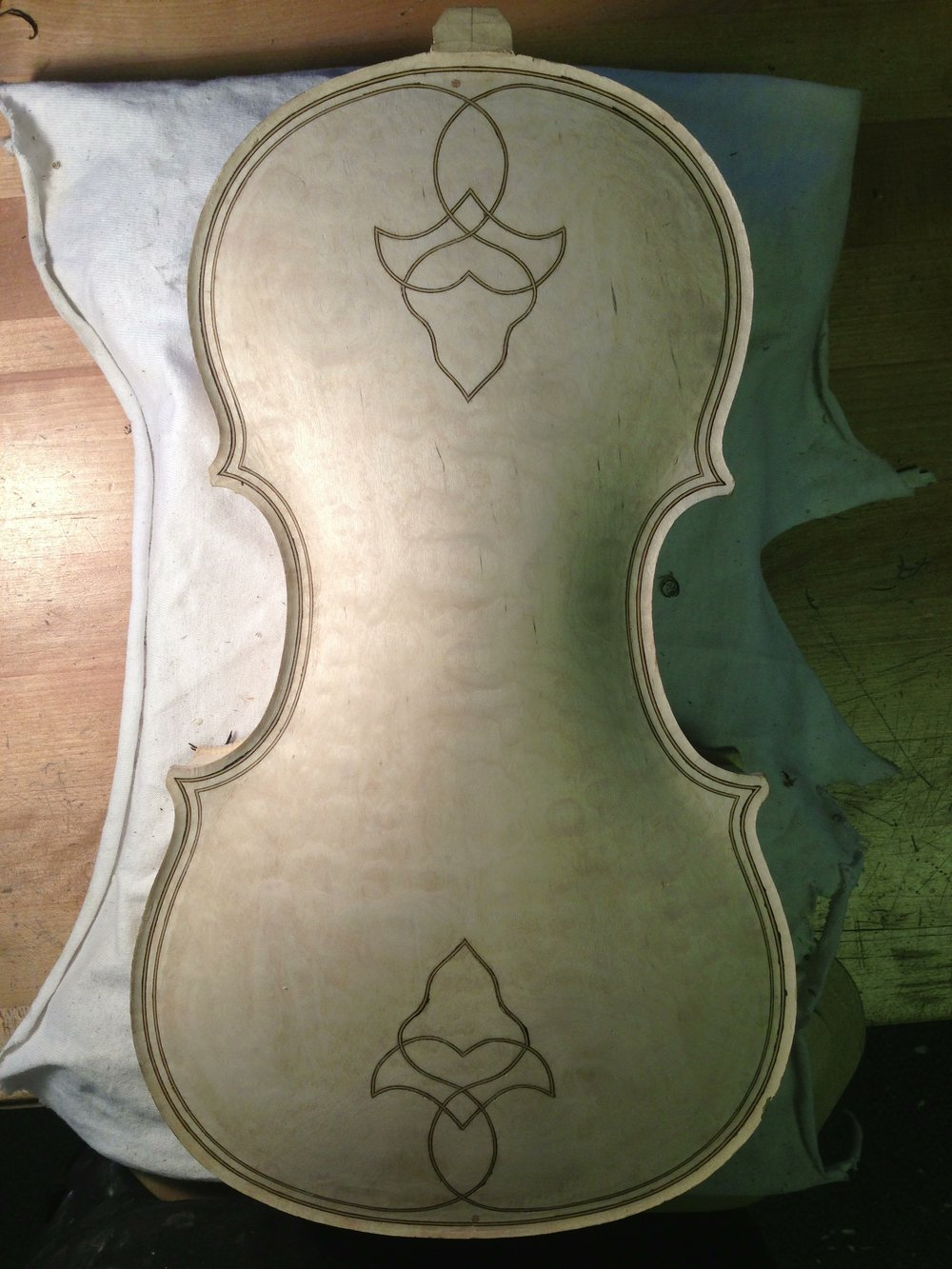 No. 5 - Completed back