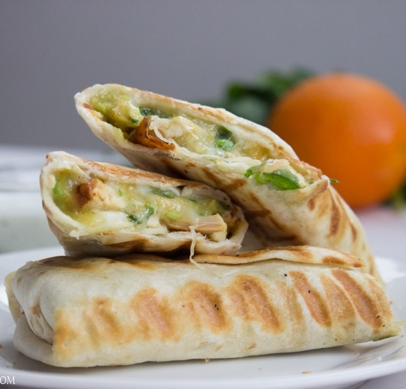 Quick & Easy Chicken Burritos