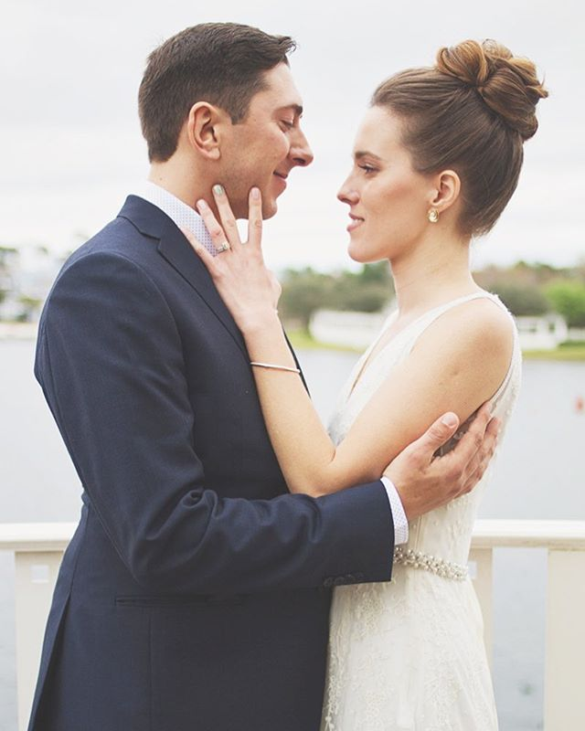 Not gonna lie...destination weddings are one of our love languages. We love seeing both families come together in unique locations to celebrate a union. Laura + Remy's wedding in #orlandoflorida was such a sweet, intimate affair that we think back to often. Laura's @bhldn gown was pure perfection y'all, and this shot captured by @egilbertphoto gets us every time!! We have quite a few #destinationweddings coming up this season! We won't be in the Florida sun  this year, but will find ourselves in the mountains to help a few of our #detailedidos couples exchange their vows in style so stay tuned!