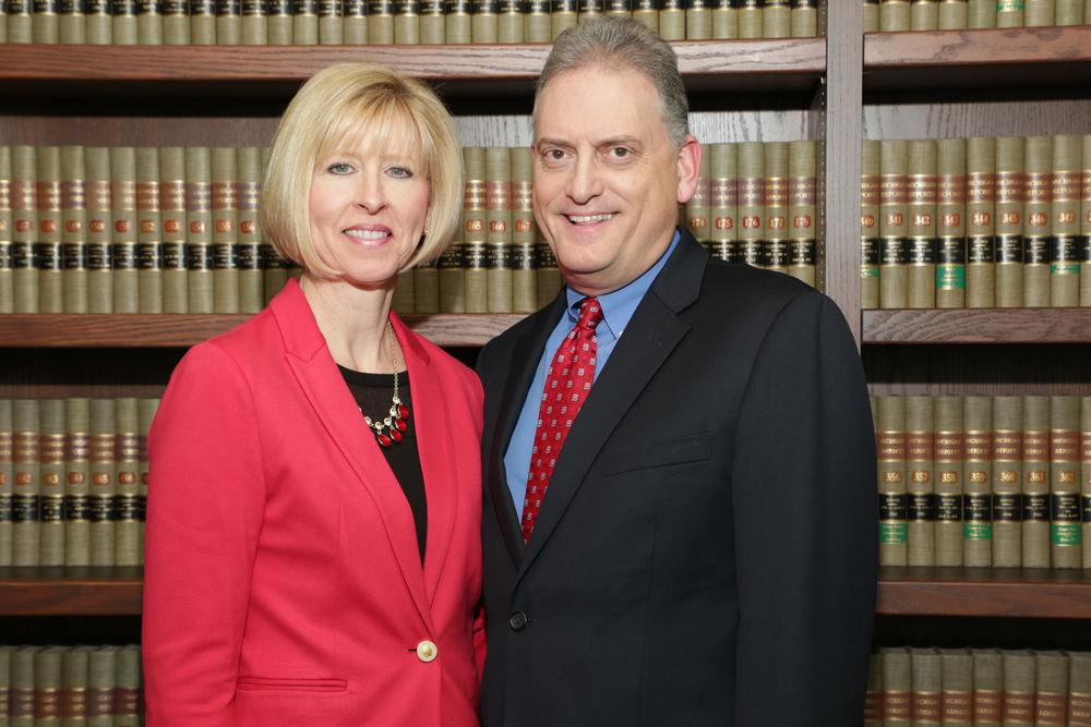 Judge Mark Plawecki and wife Julie Plawecki