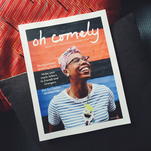 Oh Comely issue 32. Out Thursday 11 August. Photo: Lara Watson