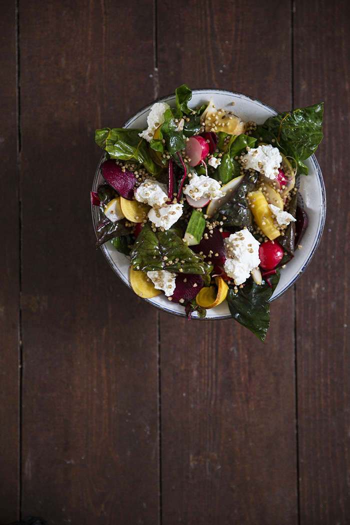 Alex Hely-Hutchinson's Autumn Salad.