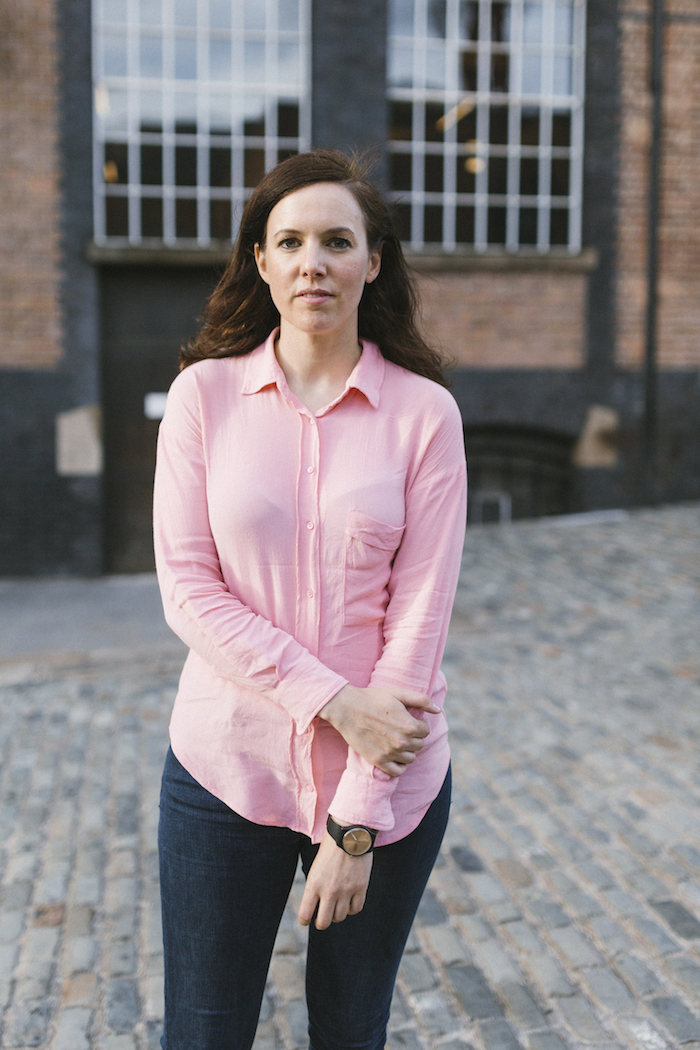 Anna Meredith, who plays the Simple Things festival this week. Portrait: Lauren Maccabee for issue 33.