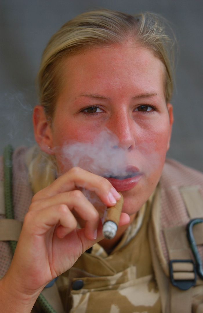 2nd Lt Hannah Bedford, aken by Cpl Mike Fletcher, 5 Apr 2006, (c) Crown