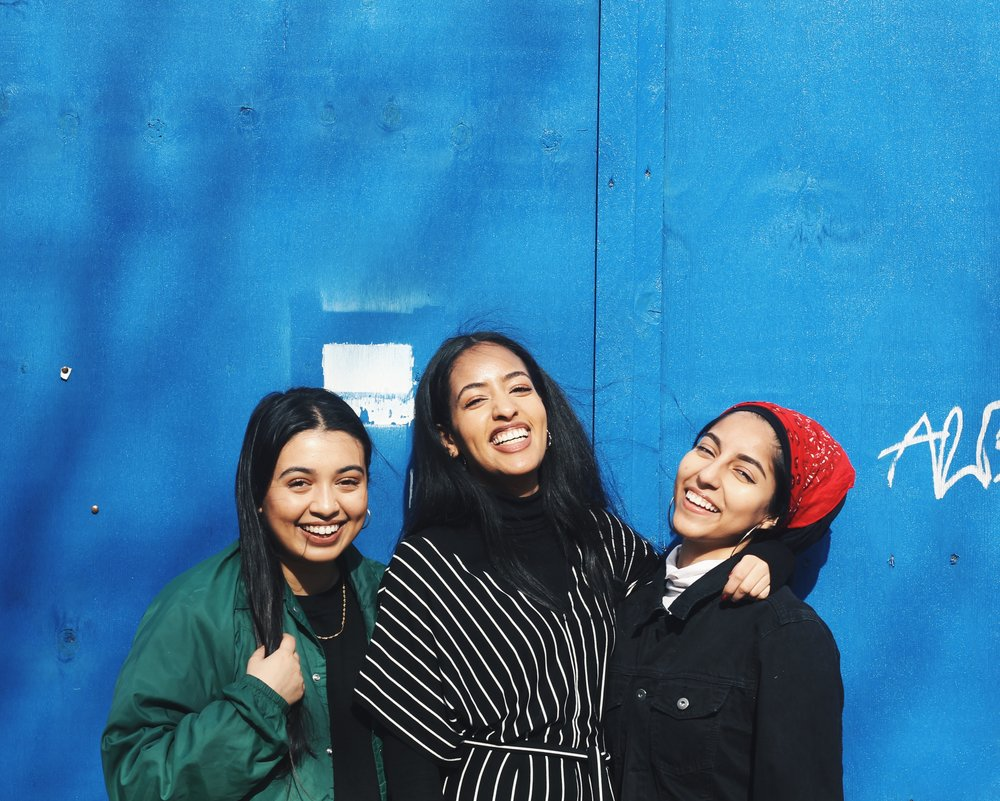 Zeinab, Sara & Lamisa, founders of Muslim Sisterhood