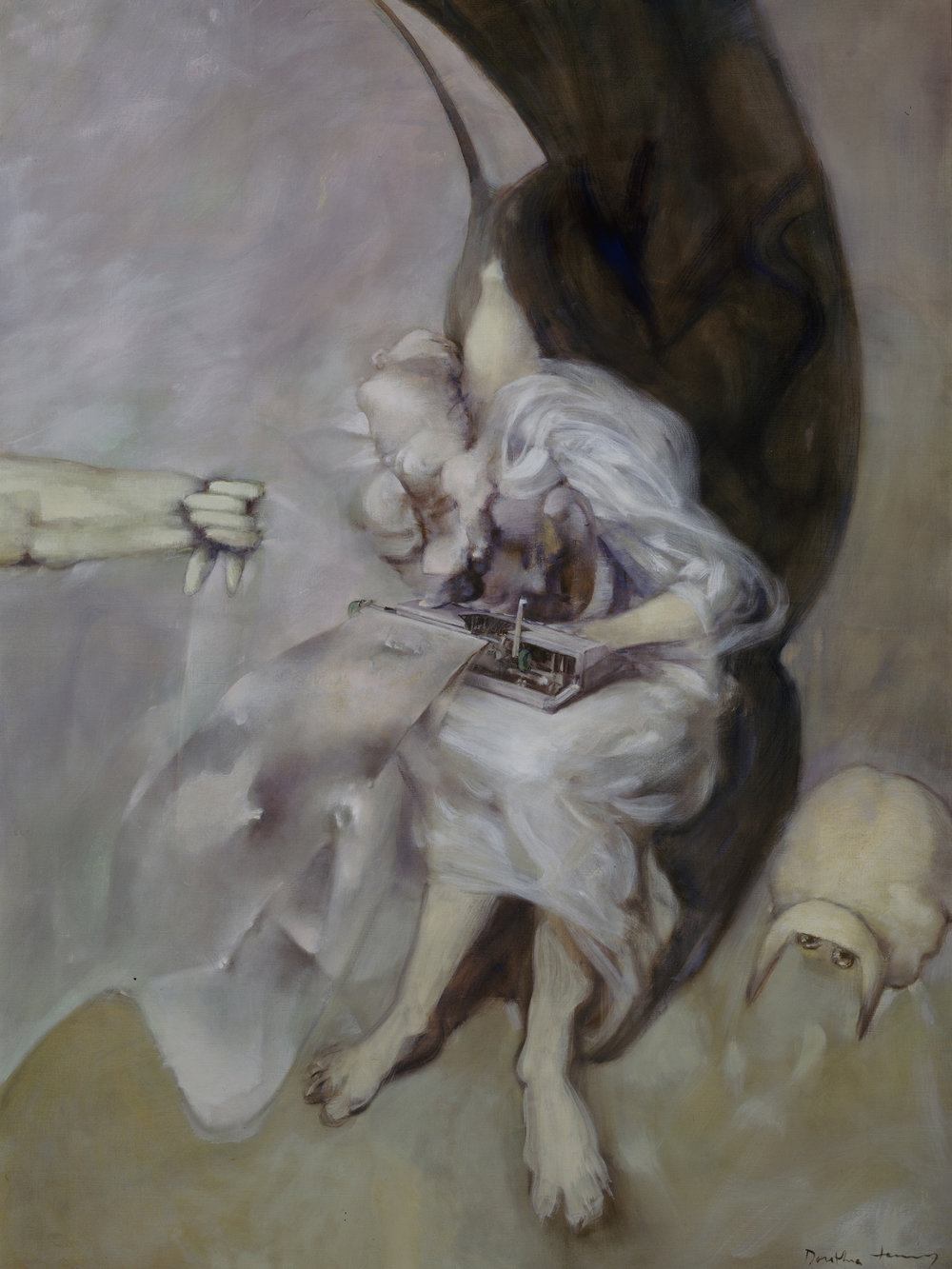 Dorothea Tanning,   Stanza,  1978 Oil paint on canvas. The Byrd Collection, Arizona. © DACS, 2018