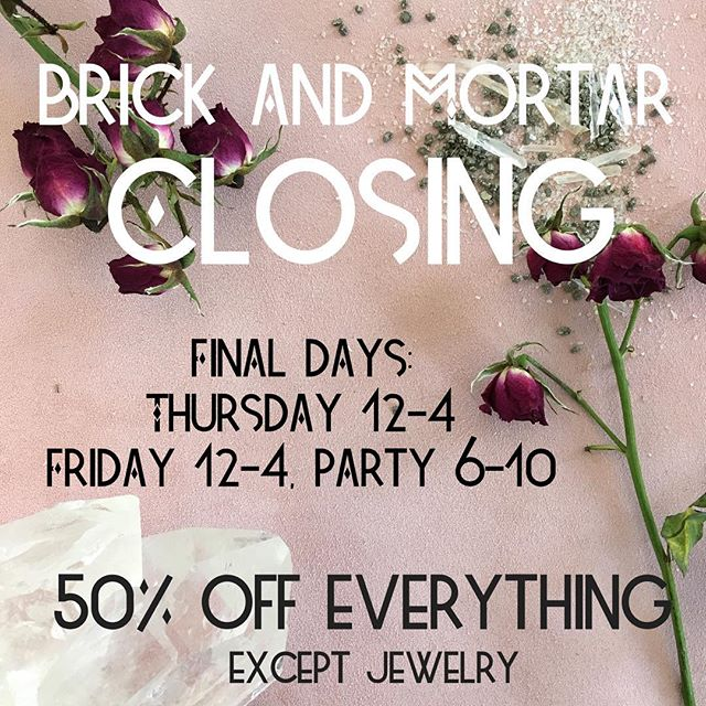 It's been a run, Lawrence. I've made the choice to continue on with what makes me whole, happy, and money. JEWELRY! Let's not be sad as I close a physical door because many more have opened for me with my craft. I'll be expanding my line of jewelry online and at trunk shows! Come take 50% off everything in store (except jewelry) this Thursday and Friday! Get a hug, a glass of wine, maybe a pinch on the butt at our Closing Party this Friday! All of my love to those of you who have supported me and the store over the past year. 🌷-Andiy  #mamatried