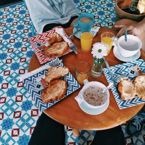 Desayuno en Vacaciones - Foto de su página de Facebook