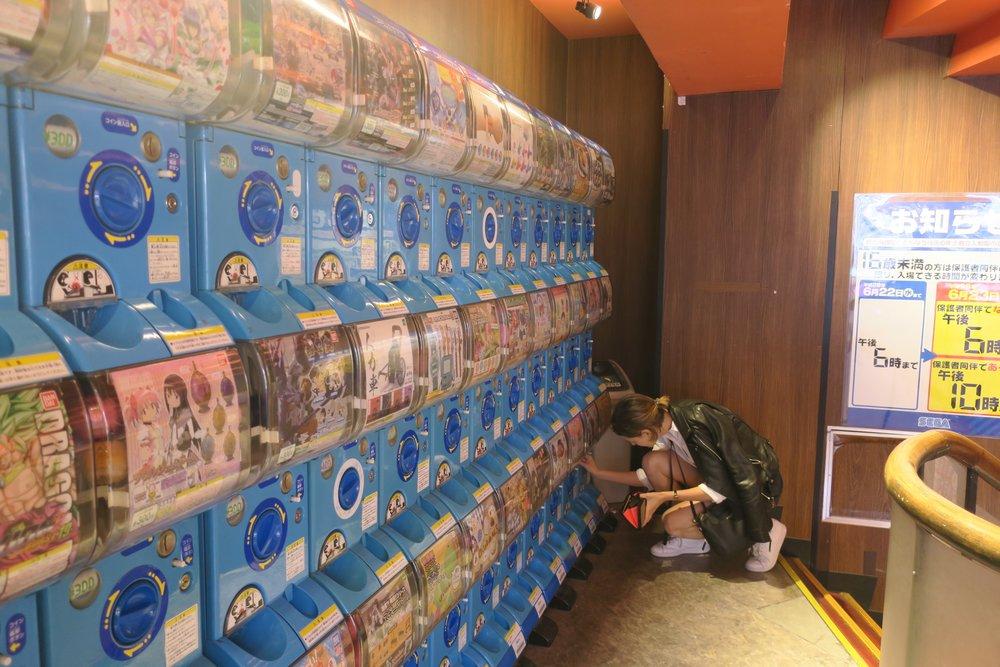 Tienda Sega en Akihabara (Tokio)