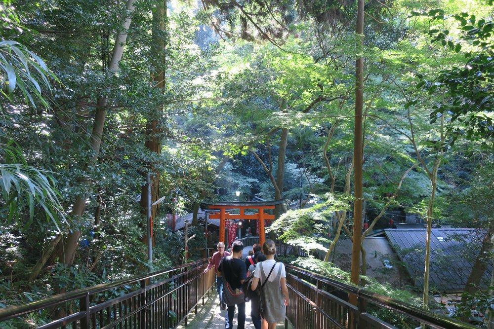 Monte Inari en Kioto