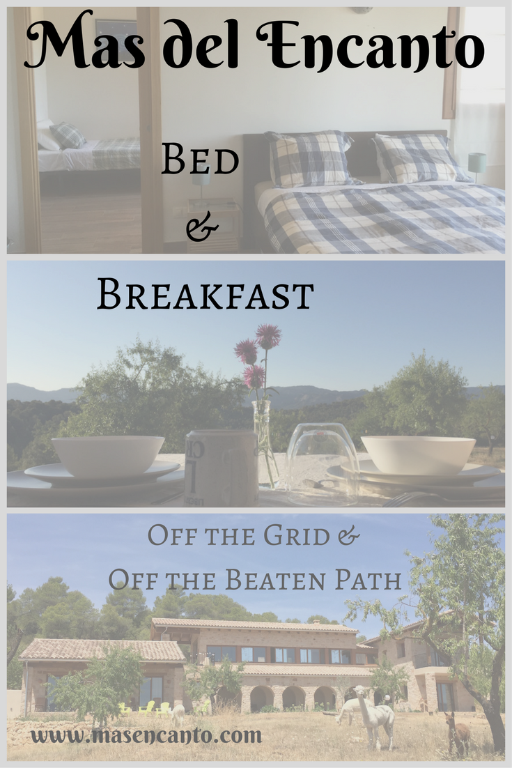 A comfortable bed and a full breakfast from the farm - those are all you need to start your day full of adventures in Matarranya! Come and stay at Mas del Encanto, our tiny farm and rural retreat in Aragon, Spain.
