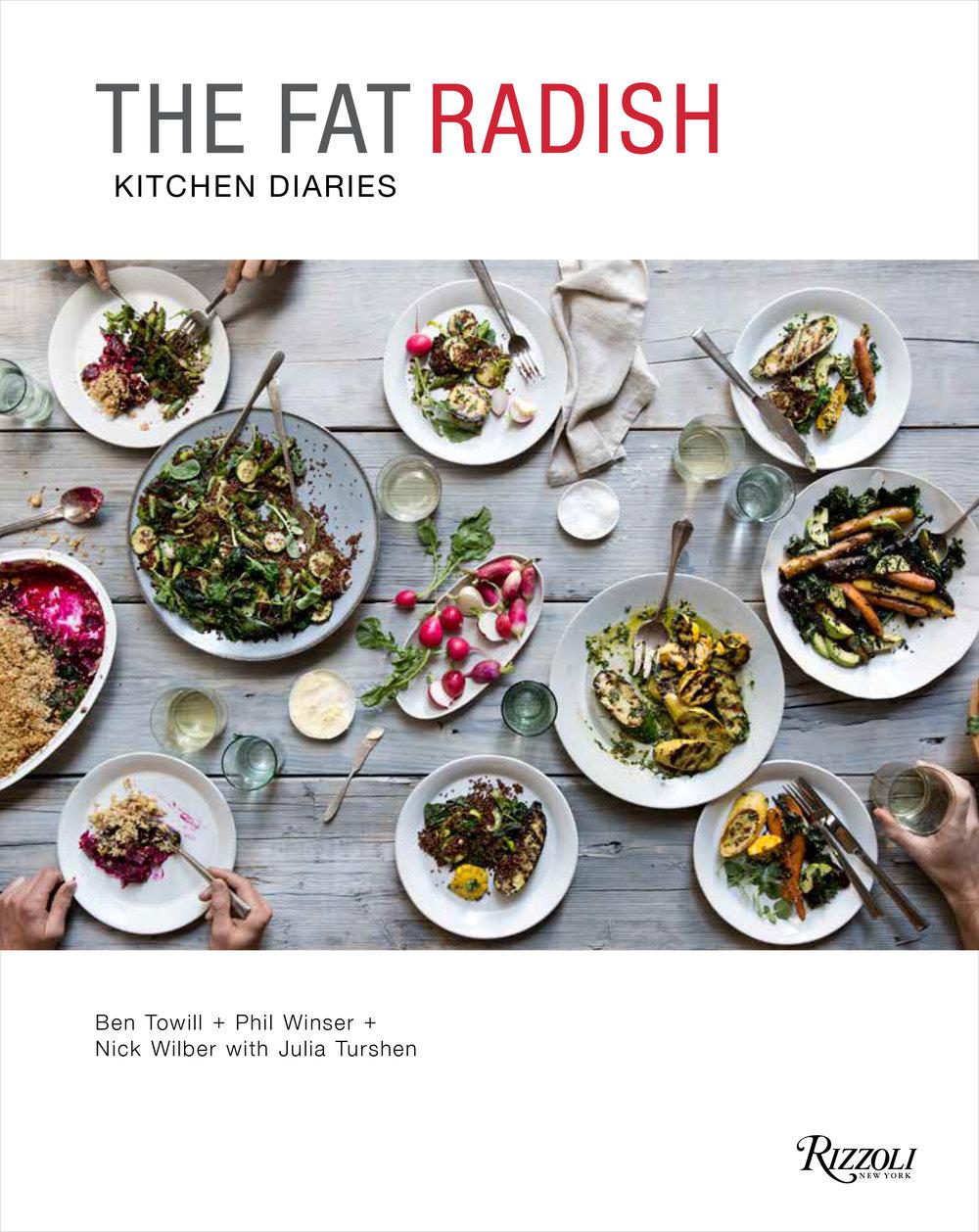 The Fat Radish Cookbook, Cover Art
