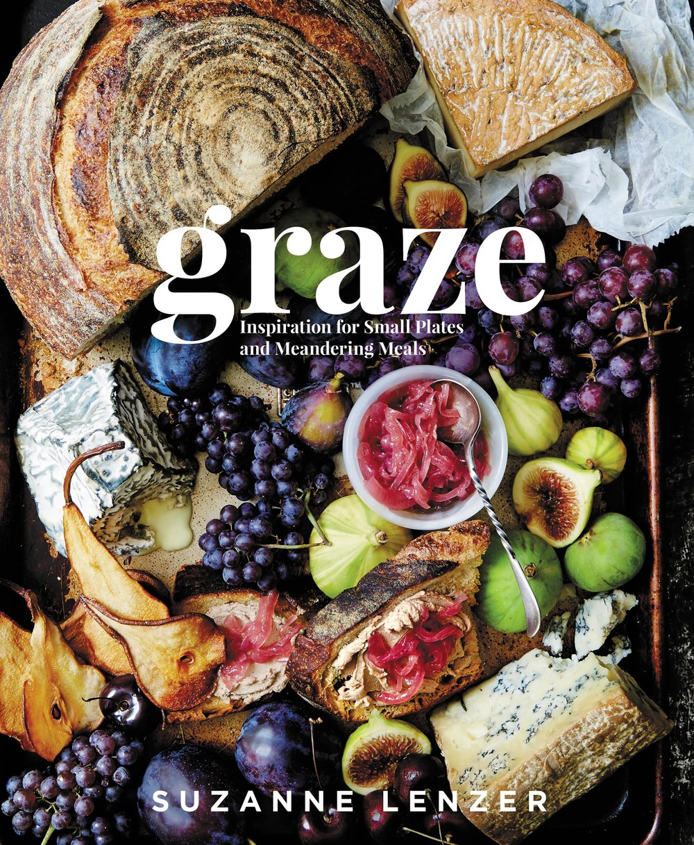 Graze cookbook, published July 2017 by Rodale