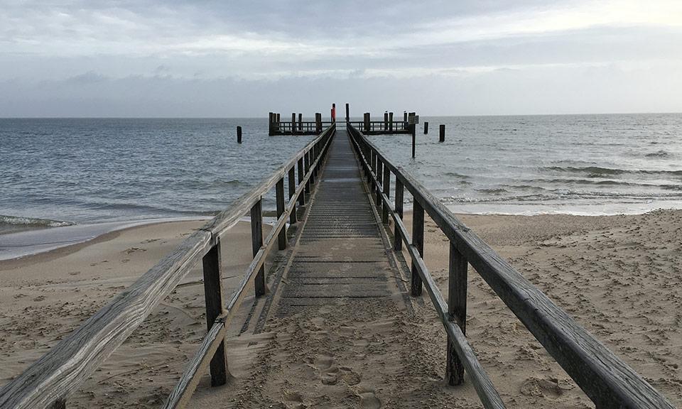 Tief durchatmen und die Weite des Wattenmeeres genießen