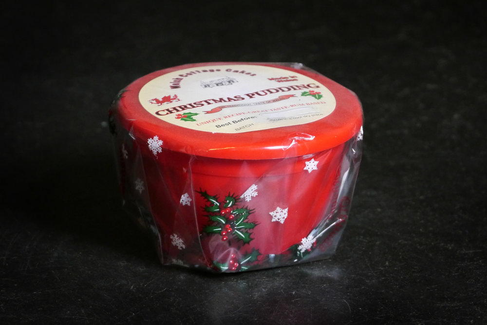 Christmas Pudding Packshot