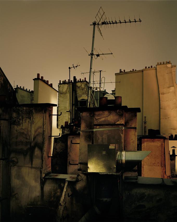 """Copy of """"Sur Paris #1"""" by Alain Cornu"""