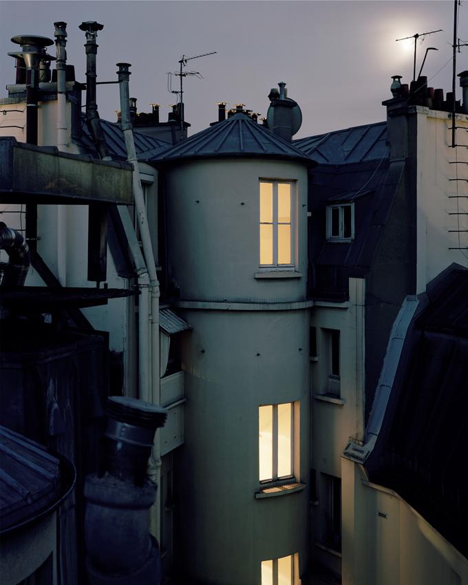 """Copy of """"Sur Paris #100"""" by Alain Cornu"""