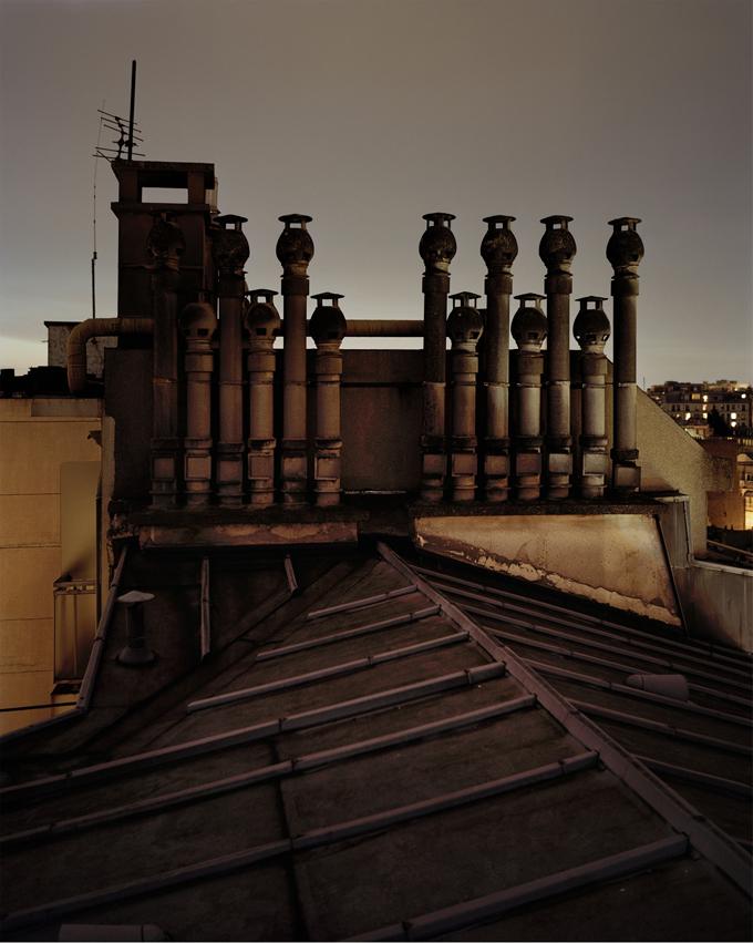 """Copy of """"Sur Paris #4"""" by Alain Cornu"""