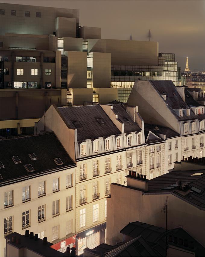"""Copy of """"Sur Paris #206"""" by Alain Cornu"""