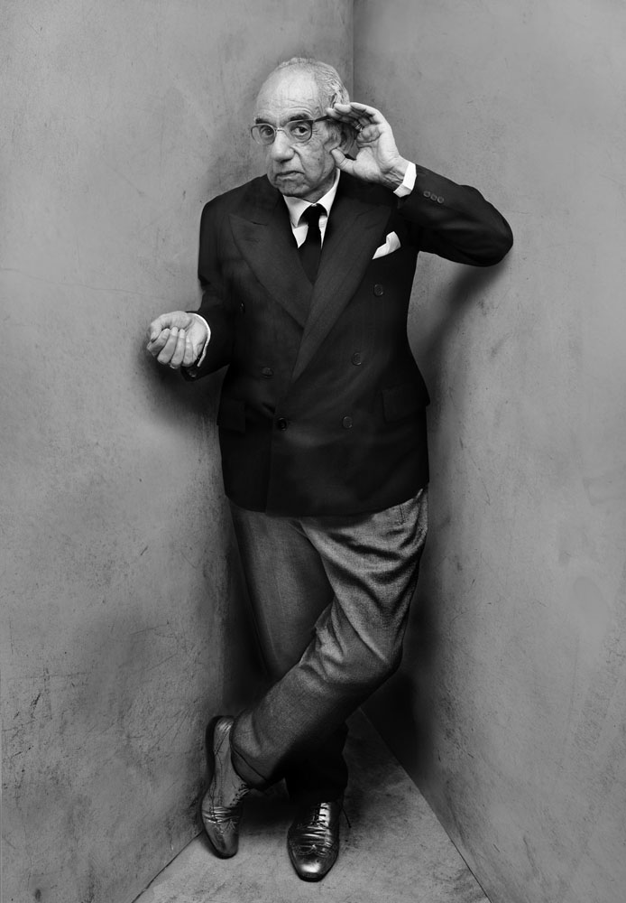 Copy of « Looking for the Masters in Ricardo's Golden Shoes #34 (Tribute to Irving PENN, Igor Stravinsky, 1948) » by Catherine Balet