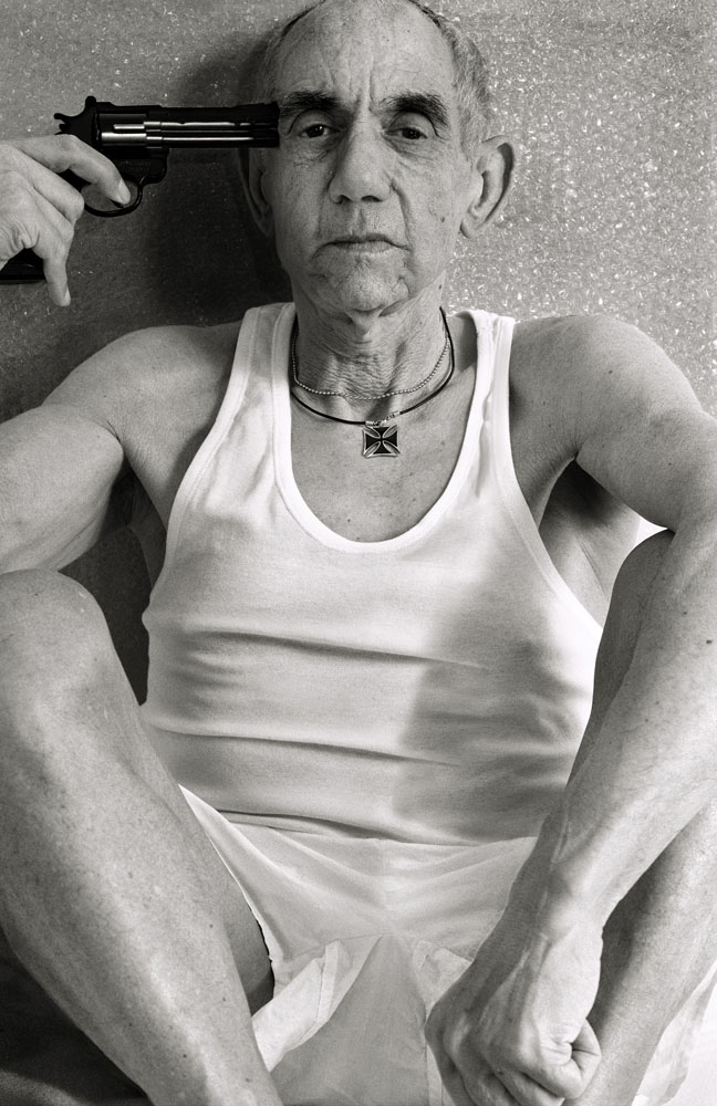 Copy of « Looking for the Masters in Ricardo's Golden Shoes #81 (Tribute to Larry CLARK, 1990) » by Catherine Balet