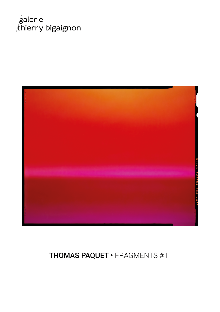 "Thomas Paquet, ""Fragments #1"""