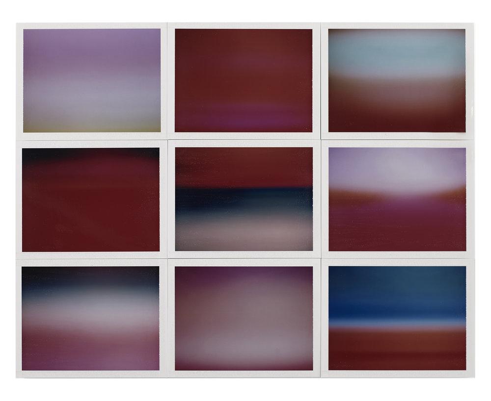 """Copy of """"Horizon, étude couleur #8"""" by Thomas Paquet"""