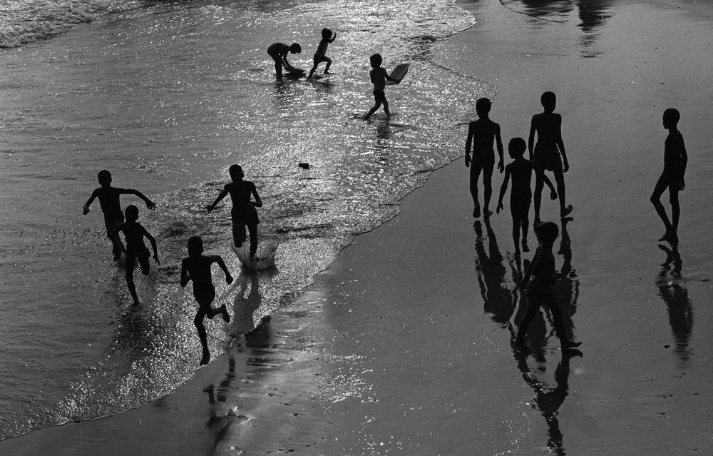Copy of Montage Silhouette Waters Edge (Coney Island, New York), 1978