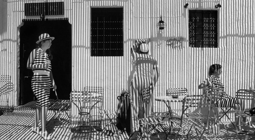 Copy of Stripes and Shadows (Ibiza, Spain), 1988