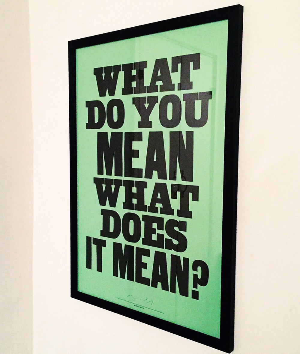 theinkcloset-blog-cheltenham-anthony-burrill-home-typographic-print-what-does-it-mean-mint-green.JPG