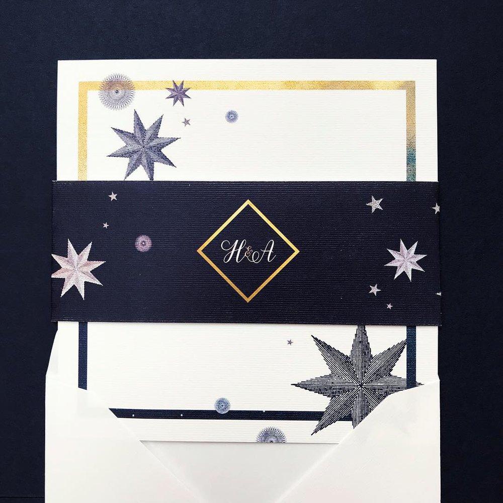 midnight-starry-gold-invitation-wedding-cheltenham-belly-band.JPG