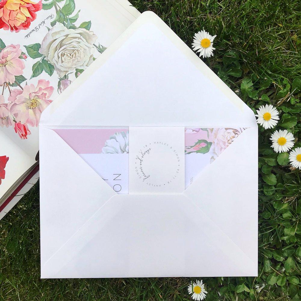 Pastel-pink-wedding-invite-white-roses-cheltenham-theinkcloset.jpg