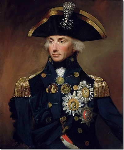 Horatio, Lord Nelson (1758-1805), by Lemuel Abbott.