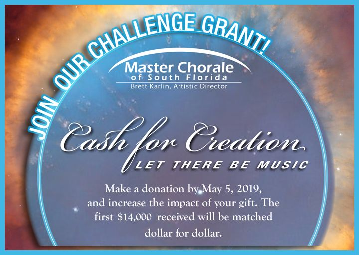 Join our challenge grant. Make a donation by May 5, 2019, and increase the impact of your gift. The first $14000 received will be matched dollar for dollar.