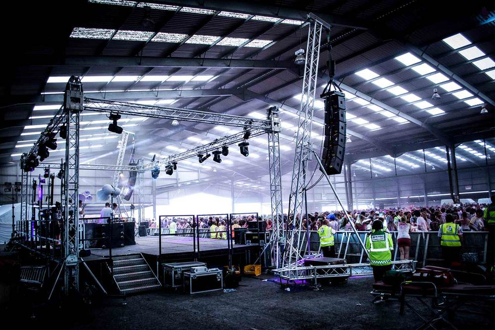 Splott Warehouse Spartan Audio Visual Void Airmotion Full Production