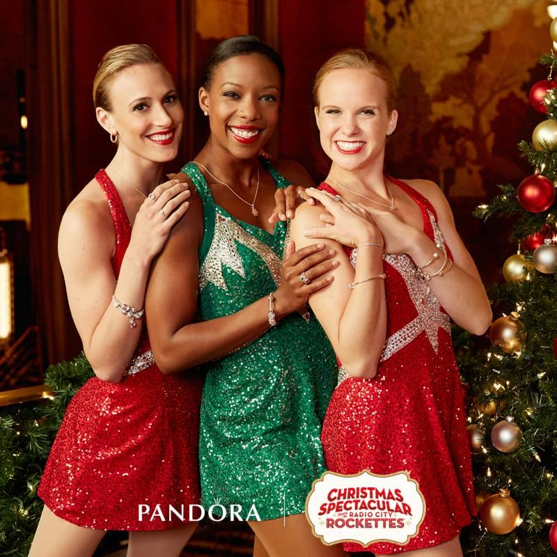 Carter Berg- Pandora Jewelry Rockettes Christmas Spectacular