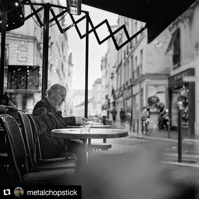 Slowly. Describes how you like to enjoy your coffee and also how you like to enjoy your film shooting. Nice and slowly.  #Repost @metalchopstick (@get_repost) ・・・ Slow Paris mornings. #hasselblad500cm #hasselblad #120mmfilmphotography #ilfordhp5 #120film #filmphotography #paris 🎞 @chelseaphotographic @hasselblad @hasselbladfeatures