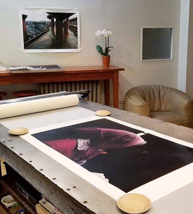 "Currently printing @brucedavidsonphoto 's ""Subway Series"" from his original 35mm chromes. We scanned the chromes using our Hasselblad Flextight X5 and are printing them on digital pigment papers at roughly 20x30.  Interested in learning more about our digital pigment printing services? DM us here or email the lab at chelsealab@gmail.com  #chelseaphotographicservices #chelseaphotographic #filmisalive #filmtodigital #pigmentprints #inkjet #newyorkphotographers #newyorkcity #chelsea #flatiron #photolab #filmphotography #deathtodigital #printingservices #brucedavidson #magnumphotographers #brucedavidsonphoto"