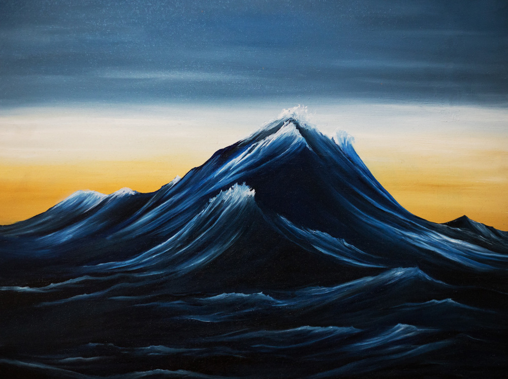 Wave/Mountain 1